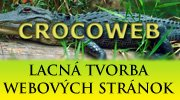 Crocoweb - Lacná tvorba webových stránok